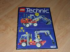 LEGO 8837 Pneumatic Excavator instructions en bon état