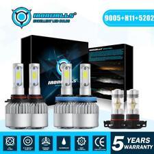 9005 + H11 + 5202 H16 LED Headlight Bulbs for GMC Sierra 1500 2500 HD 2007-2013