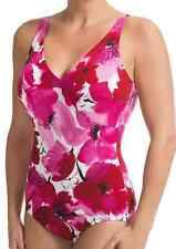NEW MIRACLESUIT FREE LOVE 1-PIECE SWIMMING SUIT WOMENS 16 LOOK 10 LBS LIGHTER