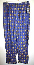 0134653b092 UNK Men's Golden State Warriors Curry Blue/Gold Lounge Pajama Pants L(36/