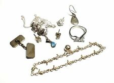 925 STERLING SILVER / MIXED METAL Assorted Jewellery Collection, 19.33g - L10
