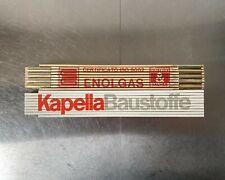 2 Zollstöcke Kapella Baustoffe und ENOLGAS neu, unbenutzt,
