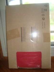 IKEA EKTORP Footstool Ottoman Cover Nordvalla Red Slipcover 803.222.66 New 🌹