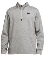 Nike Therma Dry Fit Men's Long-Sleeve 1/4-Zip Training Top Pouch Pocket Size XL