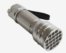 60 X BRAND NEW PACKAGED ENZO 21 LED ALUMINIUM TORCHES