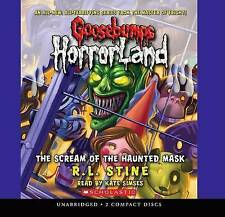 The Scream of the Haunted Mask by R L Stine (CD-Audio, 2008)