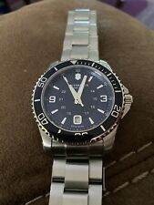 42 Mm Blue victorinox swiss army Dive watch