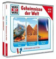 WAS IST WAS - WAS IST WAS 3-CD HÖRSPIELBOX VOL.3-GEHEIMNISSE 3 CD NEU