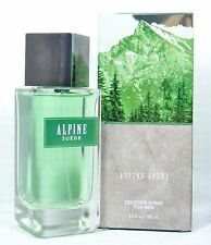 1 Bath & Body Works ALPINE SUEDE Mens Cologne CRISP AIR & WILD VETIVERE MOUNTAIN