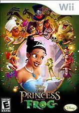 Disney Princess and the Frog Nintendo Wii Kids Girls Video Game Only Cheap 49