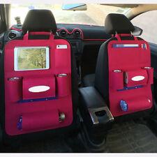 Car Back Seat Storage Bag Organizer Cars Backseat Cover Multi-Pocket Holder