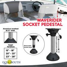 Waverider Socket Pedestal Shock Absorb / Adjustable height / Dome shape base