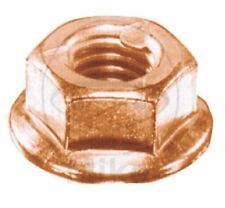 Pack of 4 exhaust nuts , copper coated, M 8, fits many bike & car models