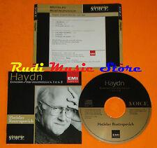 CD HAYDN Conceri violoncello 1 2 MSTISLAV ROSTROPOVICH 2001 EMI lp mc dvd
