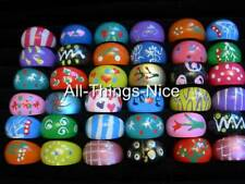 Party Gift Bag Filler Adult LUCITE BAND Rings Mix Size Fashion Jewellery 50