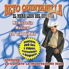 Quintanilla, Beto : Mi Historia Musical: 20 Exitos (W/Dvd) CD