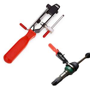 2in1 Universal Car Hose CV Boot Clamp Clip Tightener Crimping Tool w/ Cutter 1x