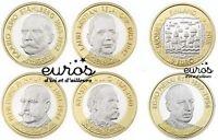5 x 5 euros commémoratives FINLANDE 2016 - 2017 - Les Présidents Finlandais