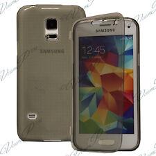 Cover Portafoglio A libro GRIGIO Samsung Galaxy S5 Mini G800F G800H / Duos