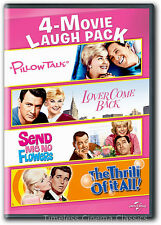 Pillow Talk, Lover Come Back, Send Me No Flowers, The Thrill of it All DVD New