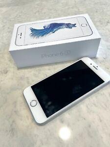 Apple iPhone 6s - 64GB - Silver (Unlocked) A1688 (CDMA + GSM)
