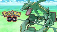 Pokemon Go RAYQUAZA ACCOUNT! 100% BAN/HACK FREE!