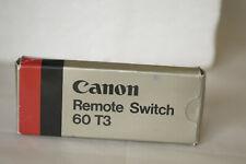 CANON REMOTE SWITCH 60T3 BOXED.