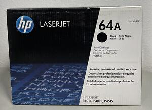 NEW Genuine HP 64A Black Toner Print Cartridge CC364A - FACTORY SEALED BOX