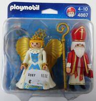 Playmobil 4887 - St. Nikolaus und Christkind - NEU NEW OVP