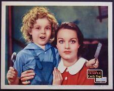 CURLY TOP SHIRLEY TEMPLE ROCHELLE HUDSON 1935 LOBBY CARD NEAR MINT
