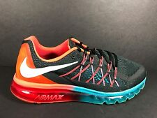 Nike Air Max 360 2015 Men's Size 12 Running Shoes Red Black Blue 698902 006