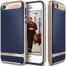 iPhone SE Case, Caseology [Wavelength Series] Slim Ergonomic Ripple Design [Navy