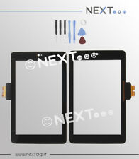 VETRO TOUCH SCREEN PER SCHERMO ASUS GOOGLE NEXUS 7 ME370 NERO 2012 1° Gen + kit
