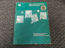 Cummins QSB5.9-30 Industrial Diesel Engine Owner Operator Maintenance Manual
