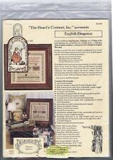 English Elegance sampler by Maureen P Appleton The Heart's Content, Inc.