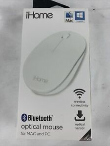 iHome WIRELESS OPTICAL MOUSE for MAC & PC USB-C USB-A Macbooks OS Windows Laptop