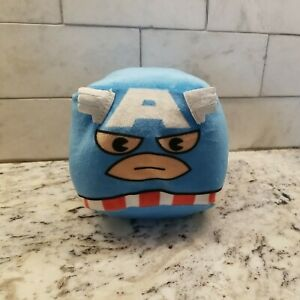 Cubd Collectibles Soft Plush Stuffed Cube Marvel Captain America