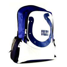 """Indianapolis Colts Full Size Student School 16"""" X 13"""" Hype Logo Backpack"""