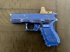 Blue Gun- Glock 19 With Rmr Holster Mold