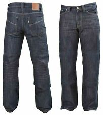 Men Motorcycle Denim Jeans Slim Fit Reinforced Pants Made With DuPont™ Kevlar®