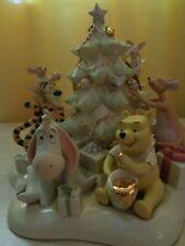 Lenox Pooh'S Tree Trimming Party Disney sculpture Tigger Nib/Coa