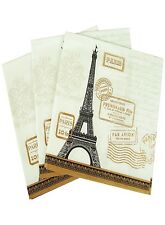 "Napkin/Luncheon - ""Paris Rendezvous""  - Art by Paula Scaletta, Elegant Design"