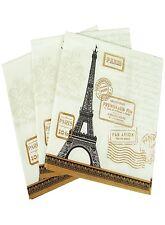 "Napkin/Beverage- ""Paris Rendezvous""  - Art by Paula Scaletta, Elegant Design"