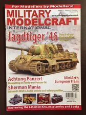 Military Model craft International Jagdtiger Euro Tram Apr 2015 FREE SHIPPING