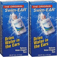 Swim Ear Swimmers Ear Solution for Water in the Ears 1oz ( 2 pack )