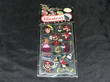 Vintage 1989 Nintendo NEW Mello Smello Zelda Mario Stickers Double Sided Varient
