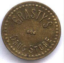 GRASTY'S DRUG STORE * GOOD FOR 2 1/2C IN TRADE * HENDERSON, KY TC-44399