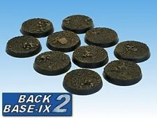 25mm Resin Scenic Bases (10) Round Dirt Warhammer 40k