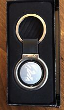 Princeton University Key Chain Tag Silver Color With Spinning Logo NEW Gift Box