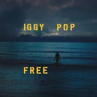 IGGY POP - FREE (LIMITED OCEAN BLUE DELUXE VINYL)   VINYL LP NEU